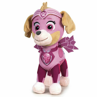 """New Official 12"""" Paw Patrol Mighty Pups Skye Soft Plushtoy"""