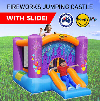 Happy Hop Firework Jumping Castle with Slide 9201f