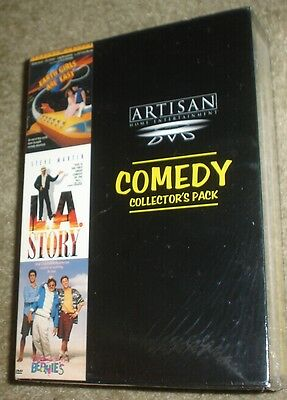 Comedy Collectors Pack (DVD, 1999, 3-Disc Set),NEW,SEALED, RARE, INC. L.A. STORY