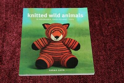 Knitted Wild Animals By Sarah Keen Paperback Book The Fast Free