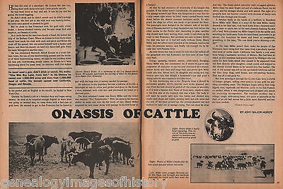 CATTLE BARONS OF THE OLD WEST - King, Lux, Miller, Onassis of Cattle