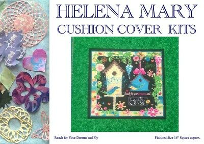 "Patchwork Kit Complete Cushion Cover Kit - Reach for Your Dreams and Fly - 16""Sq"