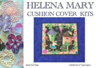 "Patchwork Kit Complete Cushion Cover Kit - Spread Your Wings - 16""Sq"