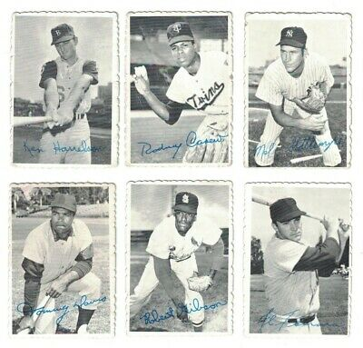 7 1969 Topps Deckle Edge Baseball Cards 403 Picclick