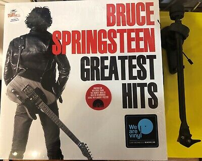 Bruce Springsteen Greatest Hits 2 x RED VINYL LP SET Mint Condition RSD18