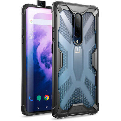 OnePlus 7 Pro Rugged Lightweight Case, Poetic® Clear Bumper Protective Cover