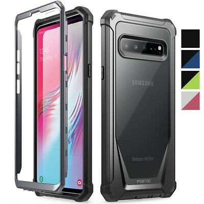 Galaxy S10 5G 2019 Rugged Clear Case,Poetic® Ultra Hybrid Shockproof Cover