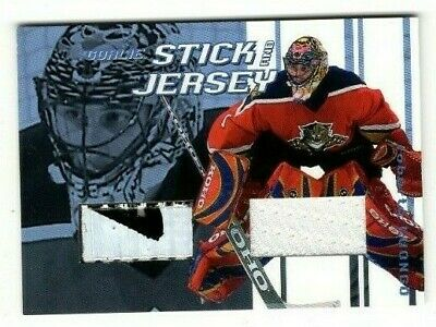 2001-02 Itg Between The Pipes Stick Jersey Roberto Luongo #Gsj-09