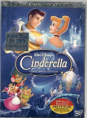 Disney's Cinderella Platinum Edition 2 Disc Special Ed 2006 Digital Restoration