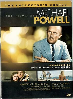 The Films of Michael Powell: A Matter of Life And Death & Age of Consent DVD