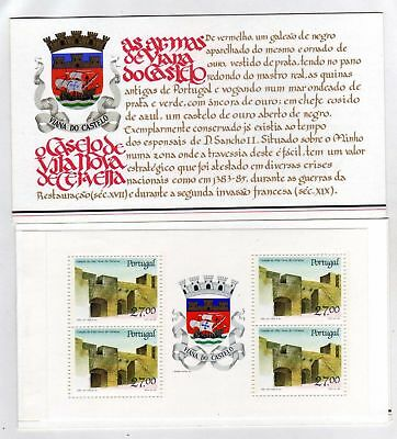 Portugal Booklet Portuguese Castles and Coats of Arms sc#1723 OG MNH** (T)