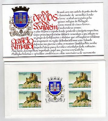 Portugal Booklet Portuguese Castles and Coats of Arms sc#1695a OG MNH** (T)