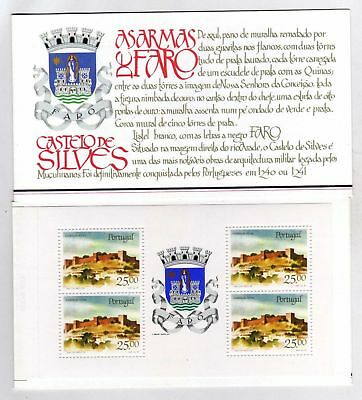 Portugal Booklet Portuguese Castles and Coats of Arms sc#1688a OG MNH** (T)
