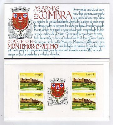 Portugal Booklet Portuguese Castles and Coats of Arms sc#1667a OG MNH** (T)