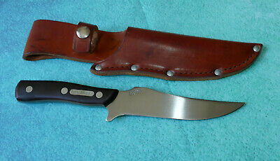 SCHRADE USA Old Timer Deerslayer Knife 15OT - N MINT Hunting Sheath Skinner 150T