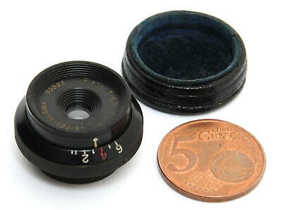 Carl Zeiss Planar 4.5/2cm small rare vintage lens 16mm front glass