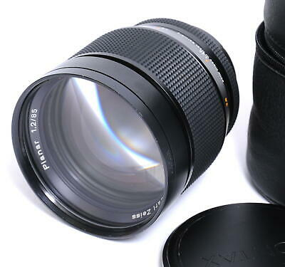 Zeiss for Contax RTS 1.2/85mm Planar T* AE-G 50 Years edition