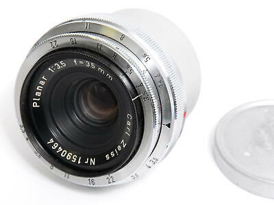Zeiss for Contax IIIA Planar 3.5 f= 35mm west Germany production