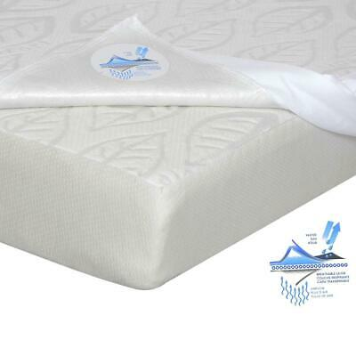Kidicomfort Green Leaf Crib Mattress with Mattress cover included (2 piece set)