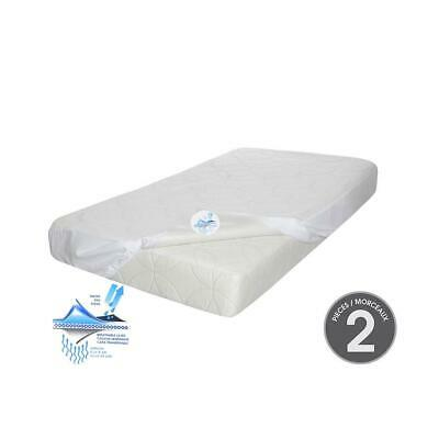Kidicomfort Sleep Time Crib Mattress with Mattress cover included (2 piece set)