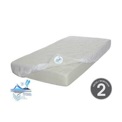 Kidicomfort Cozy Sleep Crib Mattress with Mattress cover included (2 piece set)
