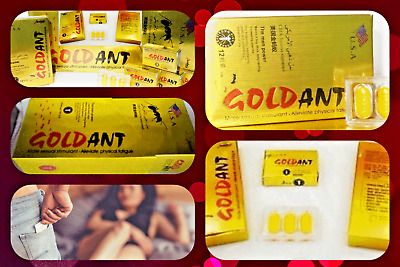 Gold Ant Male Enhancement Sex Pills 12 PK - Sexual Desire