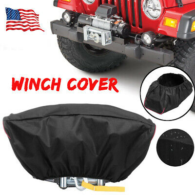 Waterproof Soft 420D Winch Dust Cover For Driver Recovery 5,000-13,000
