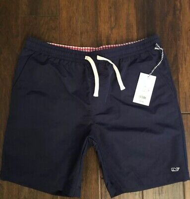 4344878c46a86 Vineyard Vines Target Mens Swim Trunks Shorts Bathing Suit Navy Blue Sizes  S, M