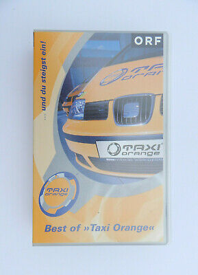 VHS Video Kassette Taxi Orange Best of ORF