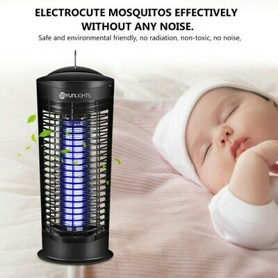 Electric Insect Mosquito Fly Killer Bug Zapper UV Home Kitchen Indoor UK Plug
