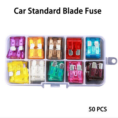 Boat Truck Motorcycle Assortment Case Assorted Car Fuse  Blade FUSES Kit