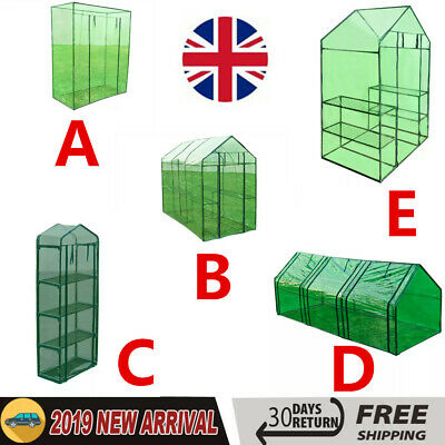 Steel Frame Greenhouse Garden Plants Grow Green House Cover Small Mini Outdoor