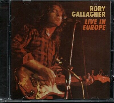 RORY GALLAGHER - Live In Europe - CD Album