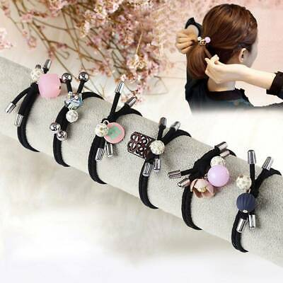 Women Sweet Rubber Band Ring South Korean Pony Adult Leather Lovely Fresh Hair