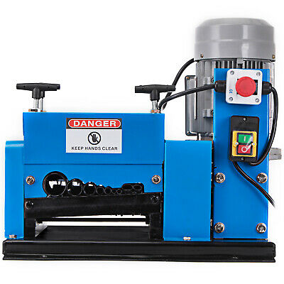 Portable Powered Electric Wire Stripping Machine 2HP Electric Copper Wire