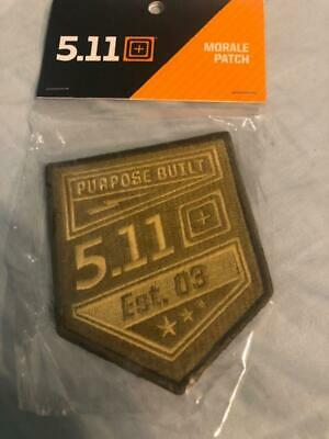 5.11 tactical Patch Army military morale purpose built promotional