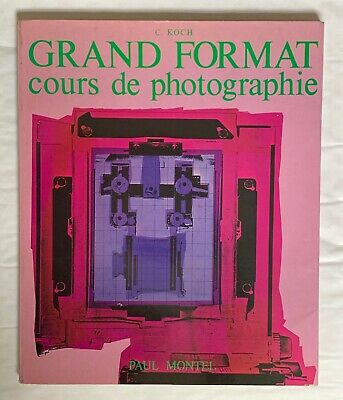 Grand Format, Cours De Photographie, Hardback Book, French Language