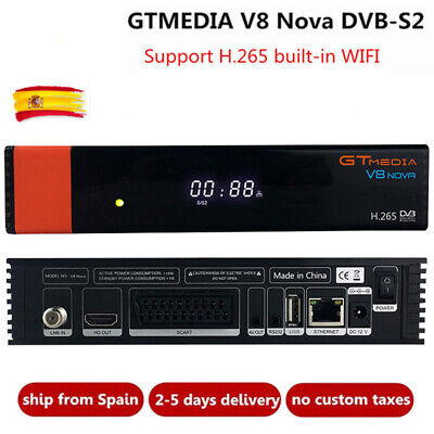 V8 upgrade Gtmedia V8 NOVA Satellite TV Receiver DVB-S2 Built-in WIFI