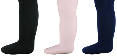 Baby tights girl knitted Chloe Louise pink black navy blue
