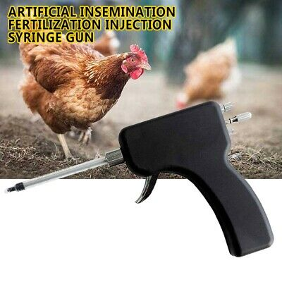 Chicken Artificial Insemination Fertilization Ejaculator Injection Syringe Gun