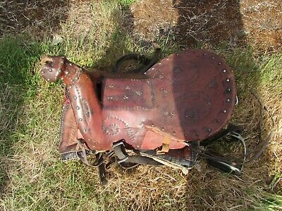 Vintage Antique Islamic/middle Eastern Saddle