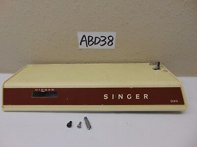 Singer 935 Sewing Machine Replacement Part Top Cover & Bobbin Winder