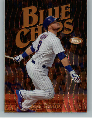 2019 Topps Finest Blue Chips FBC-IH Ian Happ - Chicago Cubs