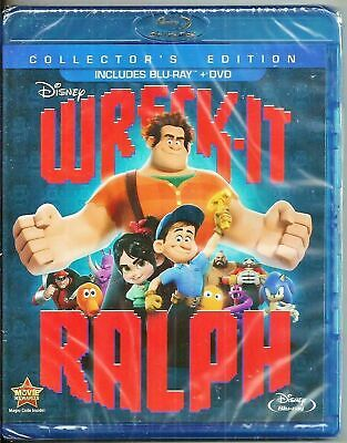 Wreck-It Ralph (Blu-ray, DVD, Collector's Edition) *Brand New*