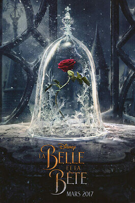 Beauty and the Beast - original DS movie poster - D/S 27x40 Advance FR