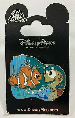 NEW DISNEY Parks Finding Nemo Squirt Turtle 3D Ocean Trading Pin