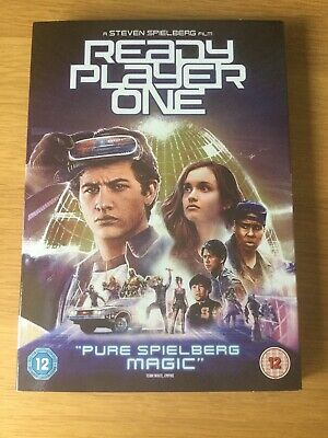 Ready Player One DVD with digital download. Good Condition