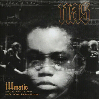 NAS ILLMATIC: LIVE From The Kennedy Center RSD 2x LP NEW