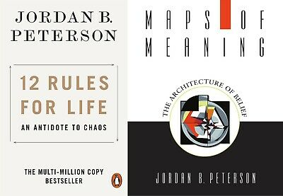 Jordan B. Peterson Kit - 12 Rules for Life + Maps of Meaning -Eb00ks  P.DF- FAST