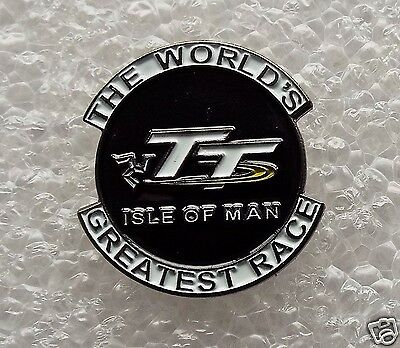 The World's Greatest Race Isle of Man TT pin badge Joey Dunlop McGuiness